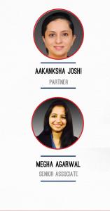 Aakanksha Joshi, Partner, Economic Laws Practice; and Megha Agarwal, Principal Associate, Economic Laws Practice